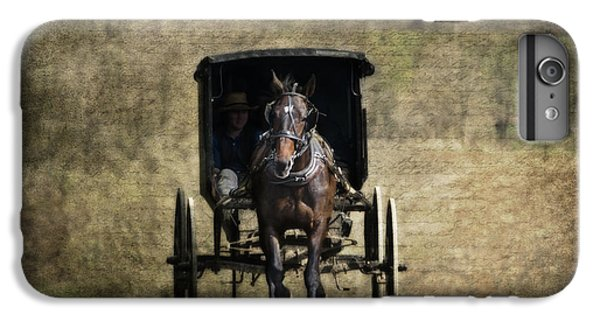 Horse And Buggy IPhone 6 Plus Case by Tom Mc Nemar