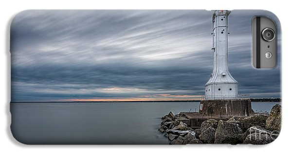 Huron Harbor Lighthouse IPhone 6 Plus Case by James Dean