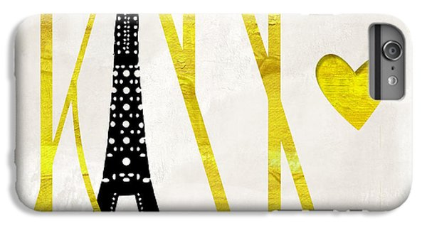 I Love Paris IPhone 6 Plus Case by Mindy Sommers