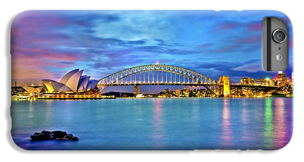 Icons Of Sydney Harbour IPhone 6 Plus Case by Az Jackson
