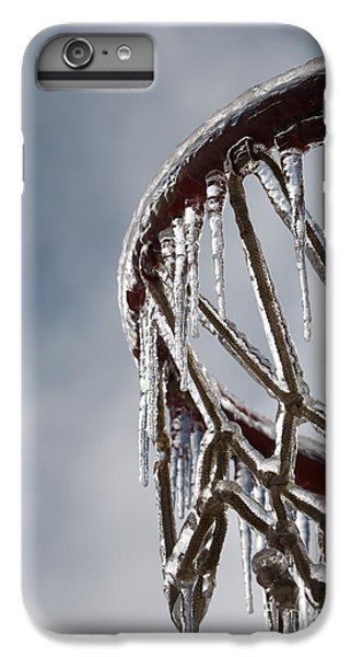 Icy Hoops IPhone 6 Plus Case by Nadine Rippelmeyer