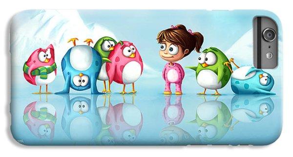 Im A Penguin Too IPhone 6 Plus Case by Tooshtoosh