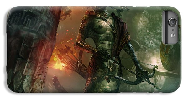 In The Lair Of The Gorgon IPhone 6 Plus Case by Ryan Barger