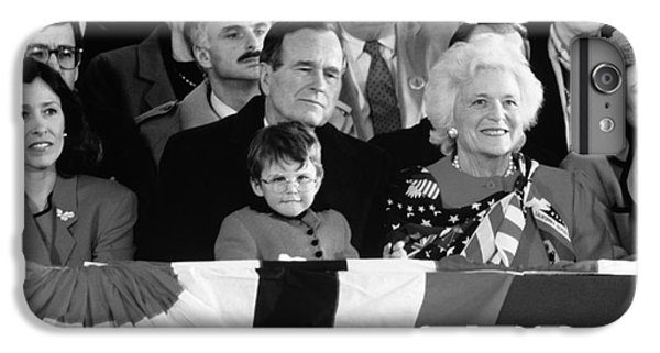 Inauguration Of George Bush Sr IPhone 6 Plus Case by H. Armstrong Roberts/ClassicStock