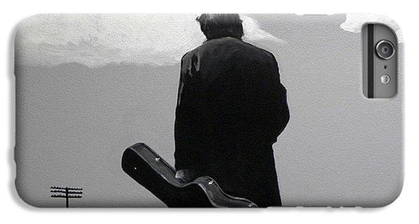 Johnny Cash IPhone 6 Plus Case by Tom Carlton
