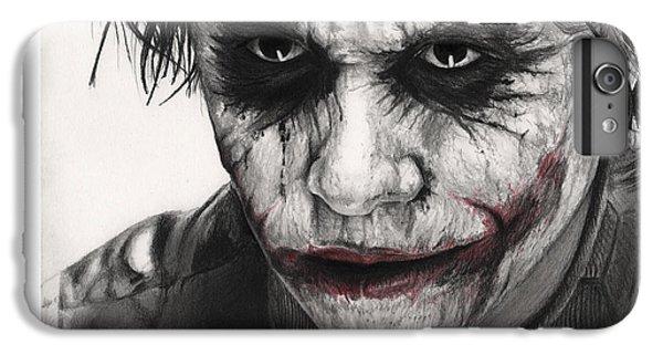 Joker Face IPhone 6 Plus Case by James Holko