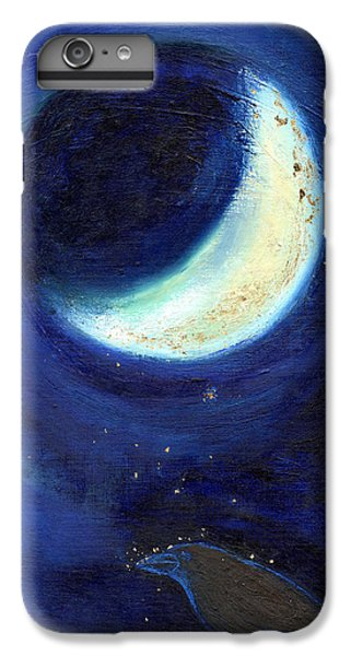 July Moon IPhone 6 Plus Case by Nancy Moniz