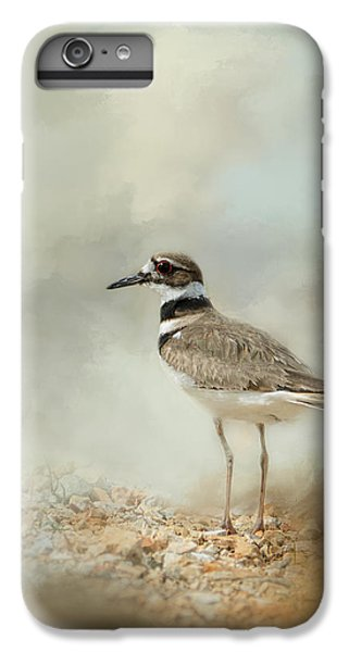 Killdeer On The Rocks IPhone 6 Plus Case by Jai Johnson