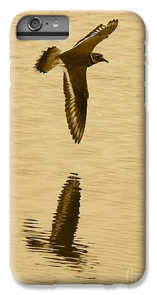 Killdeer Over The Pond IPhone 6 Plus Case by Carol Groenen