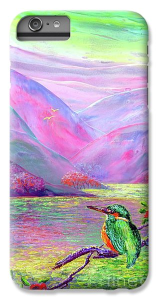 Kingfisher, Shimmering Streams IPhone 6 Plus Case by Jane Small
