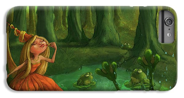 Kissing Frogs IPhone 6 Plus Case by Andy Catling