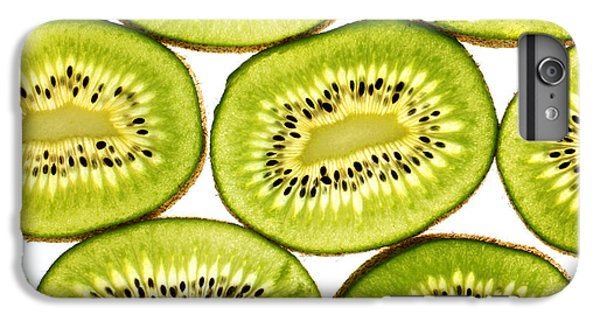 Kiwi Fruit II IPhone 6 Plus Case by Paul Ge