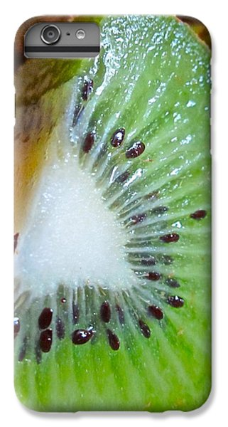 Kiwi Seed Display IPhone 6 Plus Case by Gwyn Newcombe