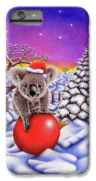 Koala On Christmas Ball IPhone 6 Plus Case by Remrov