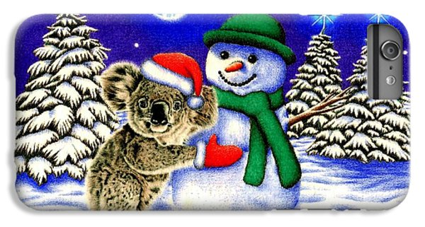 Koala With Snowman IPhone 6 Plus Case by Remrov