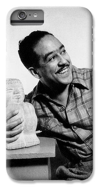 Langston Hughes (1902-1967) IPhone 6 Plus Case by Granger