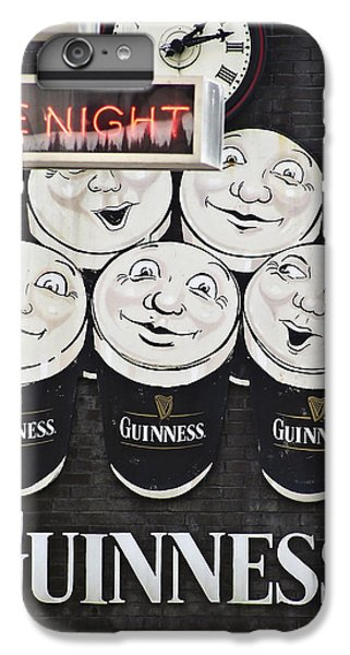 Late Night Guinness Limerick Ireland IPhone 6 Plus Case by Teresa Mucha