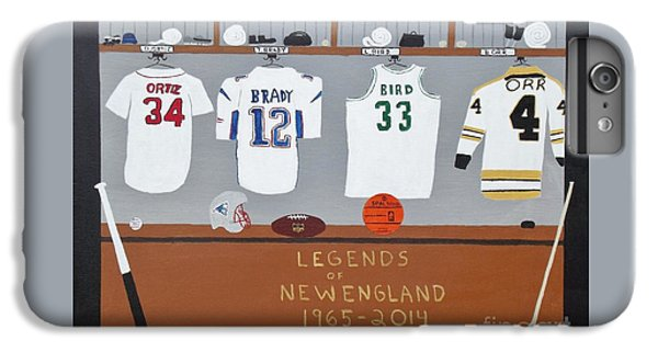 Legends Of New England IPhone 6 Plus Case by Dennis ONeil