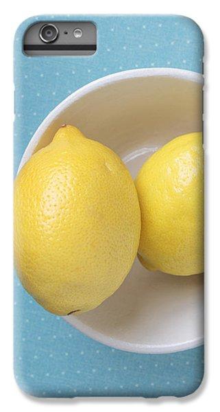Lemon Pop IPhone 6 Plus Case by Edward Fielding