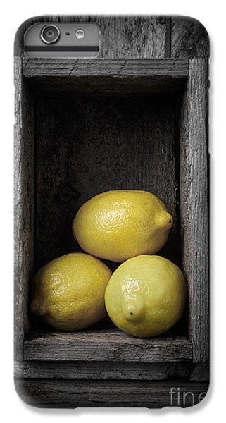 Lemons Still Life IPhone 6 Plus Case by Edward Fielding