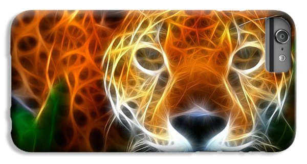Leopard Watching At His Prey IPhone 6 Plus Case by Pamela Johnson