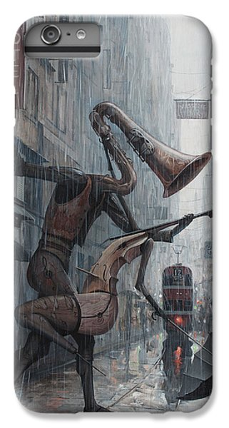 Life Is  Dance In The Rain IPhone 6 Plus Case by Adrian Borda