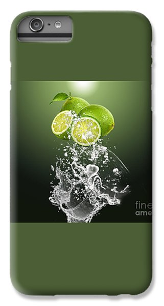 Lime Splash IPhone 6 Plus Case by Marvin Blaine