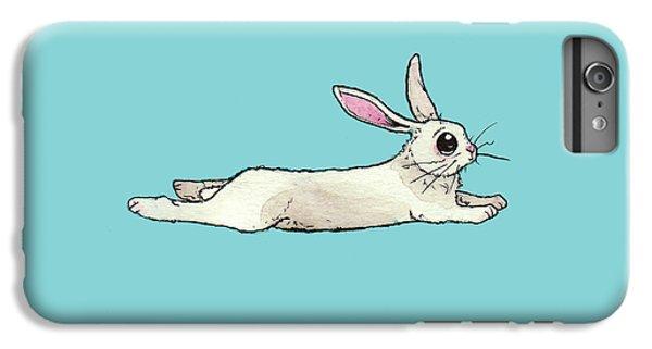 Little Bunny Rabbit IPhone 6 Plus Case by Katrina Davis