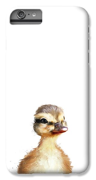 Little Duck IPhone 6 Plus Case by Amy Hamilton