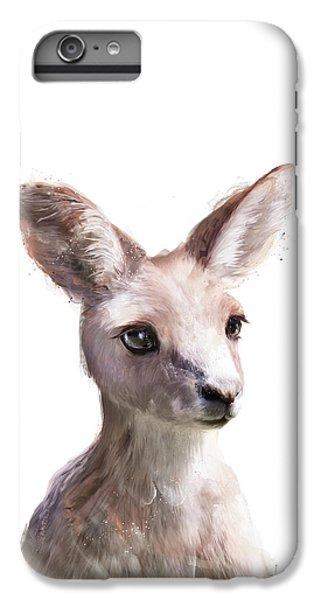 Little Kangaroo IPhone 6 Plus Case by Amy Hamilton