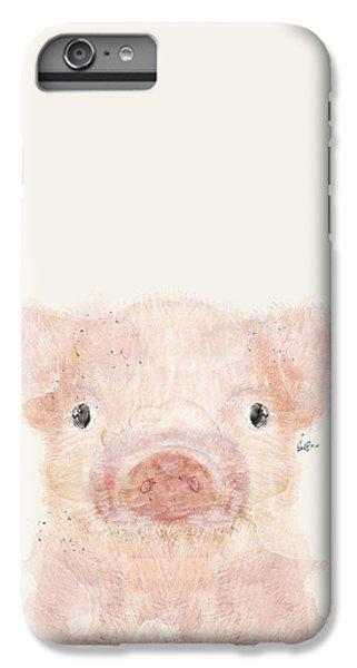 Little Pig IPhone 6 Plus Case by Bri B
