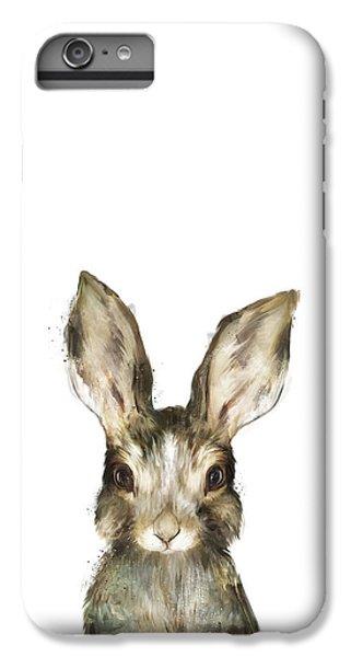 Little Rabbit IPhone 6 Plus Case by Amy Hamilton