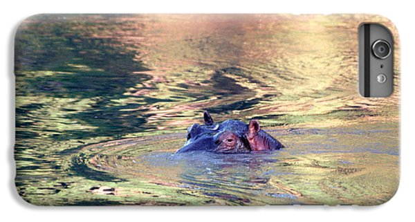 Lonely Hippo IPhone 6 Plus Case by Sebastian Musial