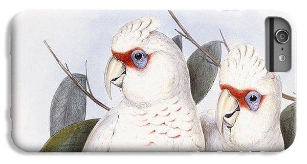 Long-billed Cockatoo IPhone 6 Plus Case by John Gould