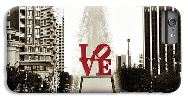 Love In Philadelphia IPhone 6 Plus Case by Bill Cannon