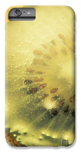Macro Shot Of Submerged Kiwi Fruit IPhone 6 Plus Case by Jorgo Photography - Wall Art Gallery
