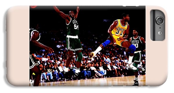 Magic Johnson No Look Pass 7a IPhone 6 Plus Case by Brian Reaves