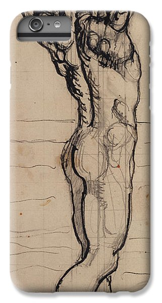 Male Act   Study For The Truth IPhone 6 Plus Case by Ferdninand Hodler