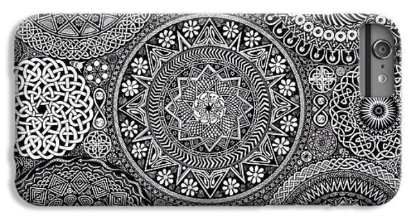 Mandala Bouquet IPhone 6 Plus Case by Matthew Ridgway
