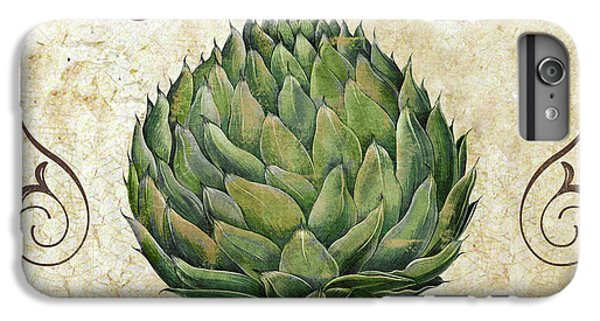 Mangia Artichoke IPhone 6 Plus Case by Mindy Sommers