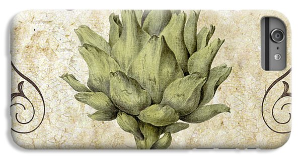 Mangia Carciofo Artichoke IPhone 6 Plus Case by Mindy Sommers