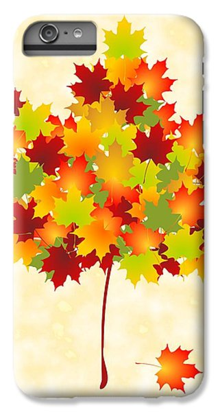 Maple Leaves IPhone 6 Plus Case by Anastasiya Malakhova