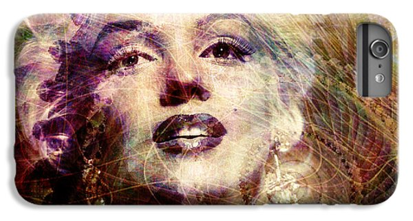 Marilyn IPhone 6 Plus Case by Barbara Berney