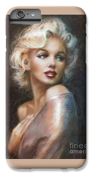 Marilyn Ww Soft IPhone 6 Plus Case by Theo Danella