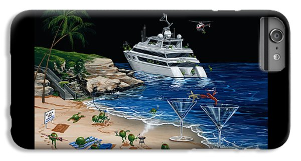 Martini Cove La Jolla IPhone 6 Plus Case by Michael Godard