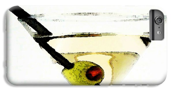 Martini With Green Olive IPhone 6 Plus Case by Sharon Cummings