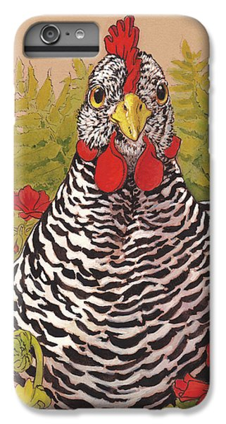Matilda In The Geraniums IPhone 6 Plus Case by Tracie Thompson