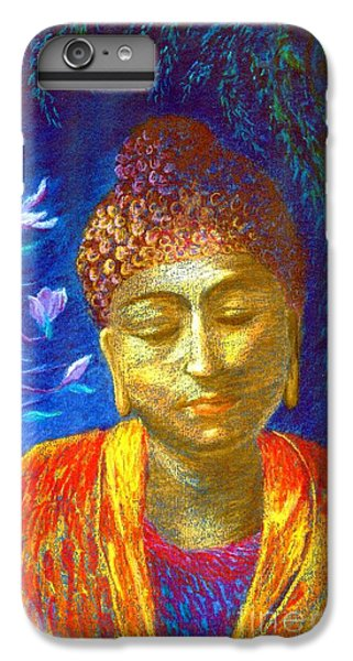 Meeting With Buddha IPhone 6 Plus Case by Jane Small
