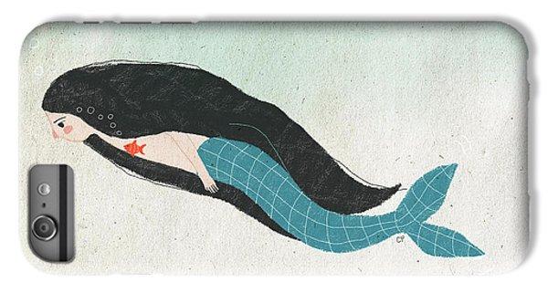 Mermaid IPhone 6 Plus Case by Carolina Parada