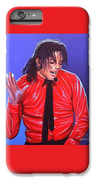 Michael Jackson 2 IPhone 6 Plus Case by Paul Meijering